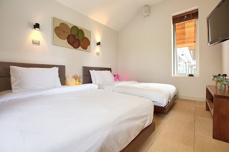 Villa Monsoon Twin Bedroom | Bang Por, Koh Samui