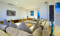 Villa Monsoon Living Area | Bang Por, Koh Samui