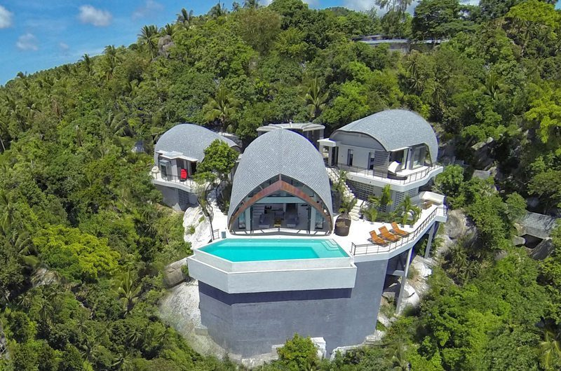 Villa Moonshadow Bird's Eye View | Koh Samui, Thailand