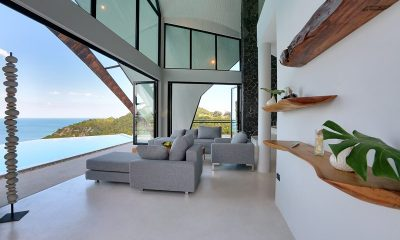 Villa Moonshadow Living Room | Koh Samui, Thailand