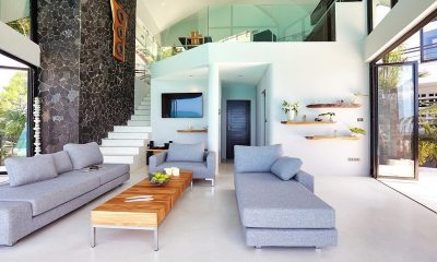 Villa Moonshadow Living Area | Koh Samui, Thailand