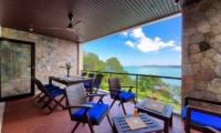 Villa Seven Swifts Outdoor Dining Area   Koh Samui, Thailand