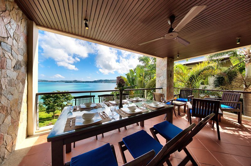 Villa Seven Swifts Outdoor Dining | Koh Samui, Thailand