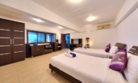 Villa Seven Swifts Twin Bedroom | Koh Samui, Thailand
