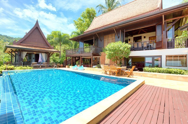 Villa Thai Teak Swimming Pool | Koh Samui, Thailand