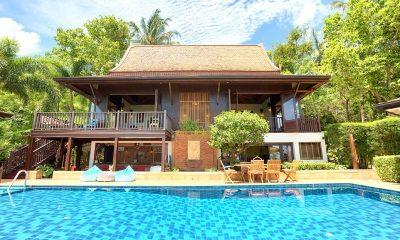 Villa Thai Teak Outdoor View | Koh Samui, Thailand
