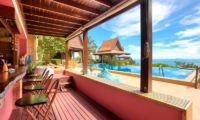 Villa Thai Teak Breakfast Bar | Koh Samui, Thailand