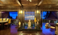 Villa Thai Teak Living And Dining Area | Koh Samui, Thailand