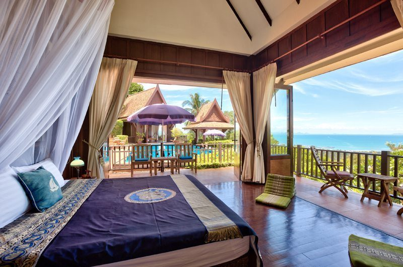 Villa Thai Teak Bedroom One | Koh Samui, Thailand