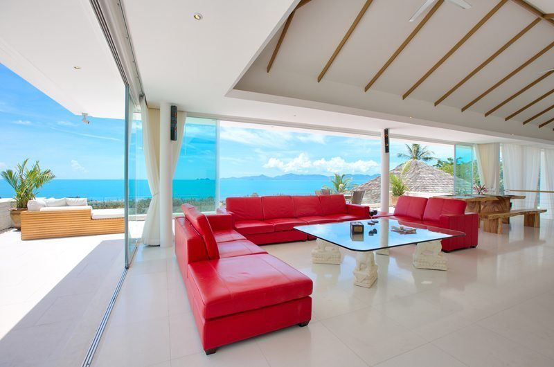 Villa White Tiger Living And Dining Area | Koh Samui, Thailand