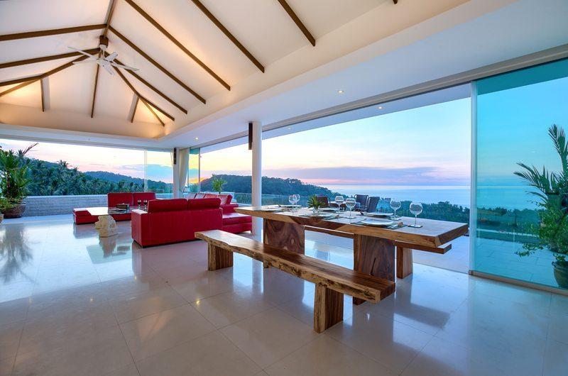 Villa White Tiger Dining Area | Koh Samui, Thailand