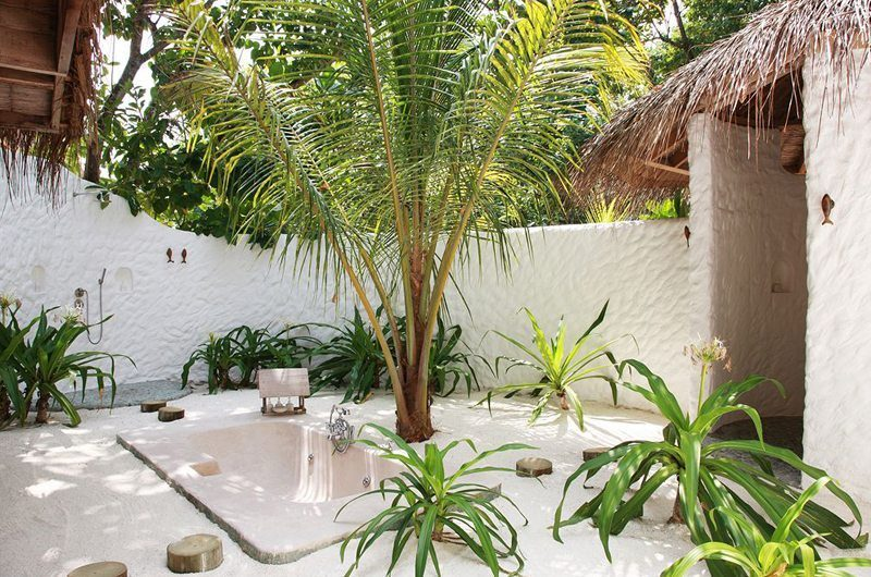 Soneva Fushi Outdoor Bathroom | Baa Atoll, Male | Maldives