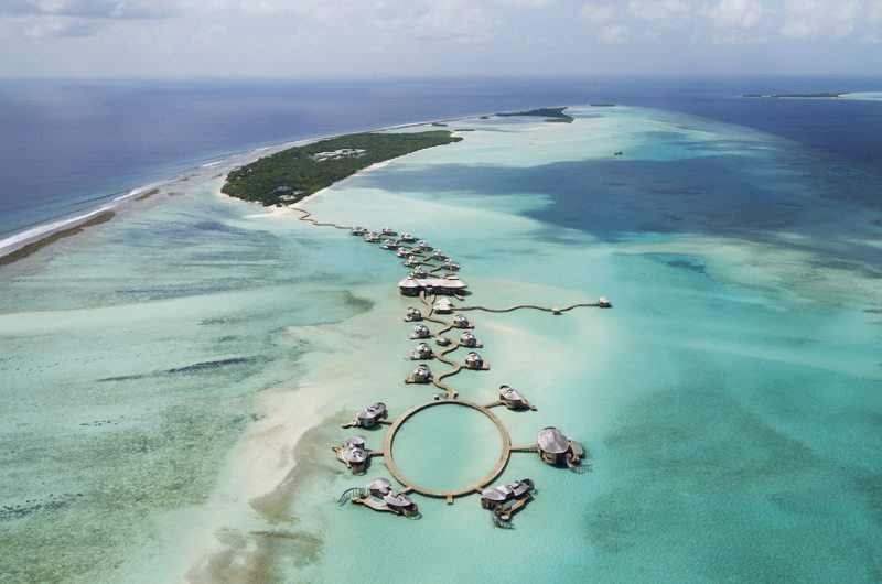 Soneva Jani Bird's Eye View | Medhufaru, Male | Maldives