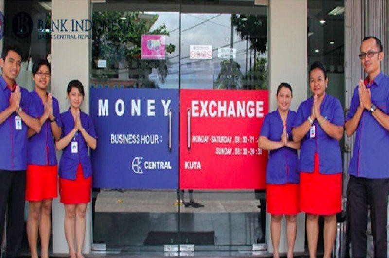 Money Exchange Central Kuta Ubud Bali