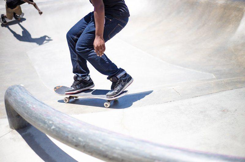 Skate Park Summer in Hakuba Japan