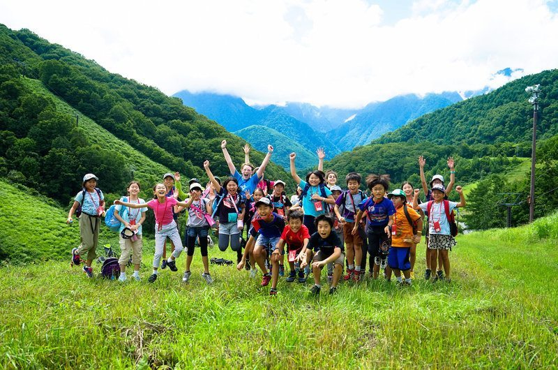 Summer Camp in Hakuba Japan