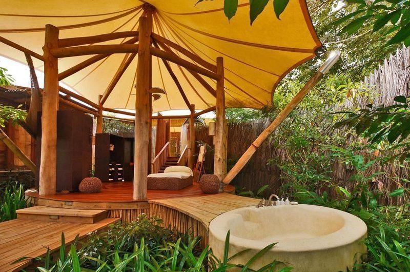Soneva Kiri Outdoor Bathroom | Trat, Thailand