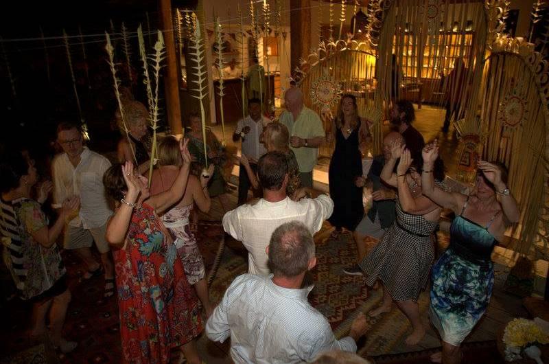 Guests at Villa Tiga Puluh Wedding