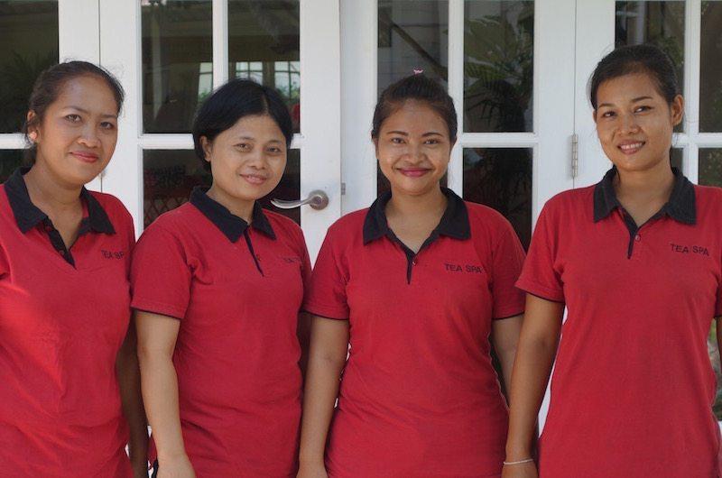 Bali massage therapists