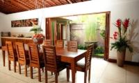 Villa Dewata I Dining Room | Seminyak, Bali