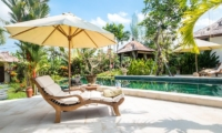 Villa Tibu Indah Sun Loungers | Canggu, Bali