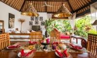 Villa Tibu Indah Dining Area | Canggu, Bali