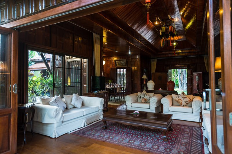 Chiang Mai Luxury Villa Ta Chang Villa Living Room | Chiang Mai, Thailand