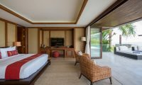 Praana Residence Bedroom with TV | Bophut, Koh Samui