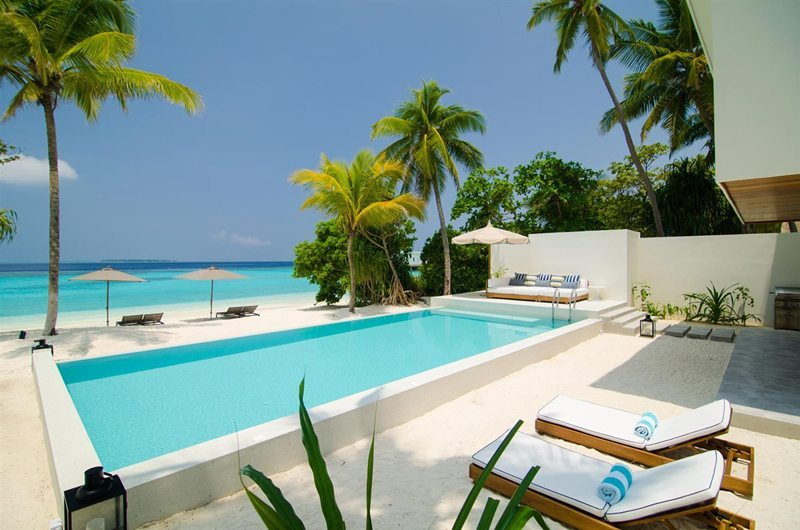 Amilla Villa Residences Swimming Pool | Amilla Fushi | Maldives