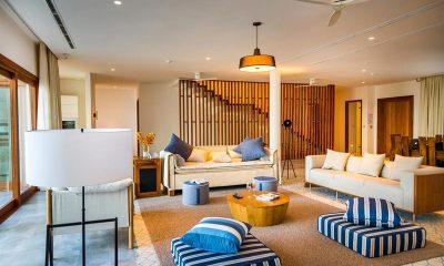 Amilla Villa Residences Living Area | Amilla Fushi | Maldives