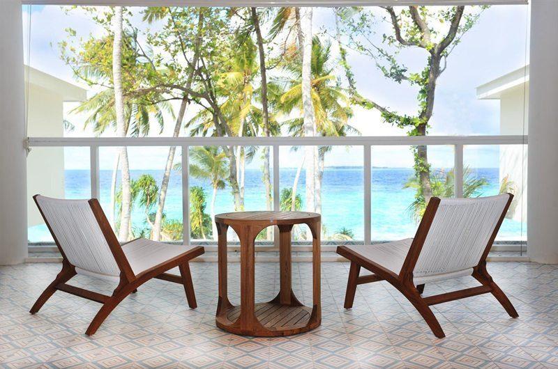 Amilla Villa Residences Balcony | Amilla Fushi | Maldives