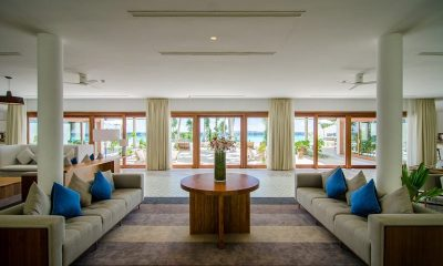 Amilla Great Beach Villa Residence Living Room | Amilla Fushi | Maldives