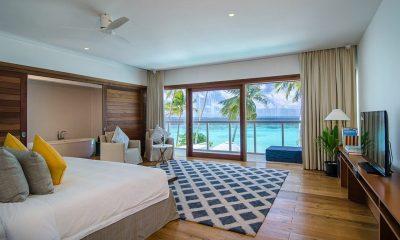 Amilla Great Beach Villa Residence Bedroom | Amilla Fushi | Maldives