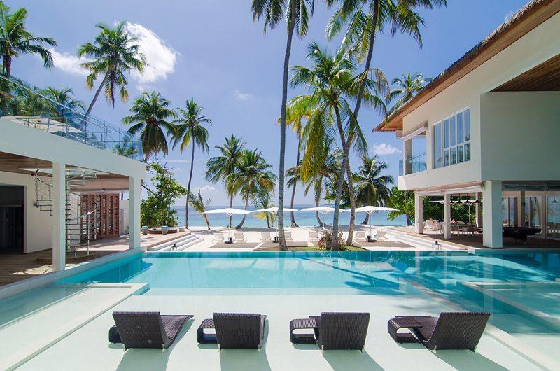 The Amilla Villa Estate Sun Loungers | Baa Atoll | Maldives