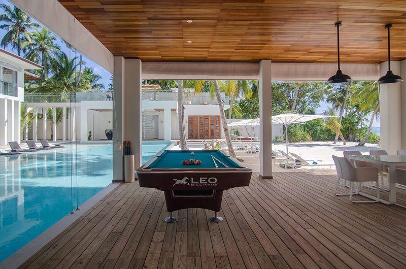 The Amilla Villa Estate Pool Table | Baa Atoll | Maldives