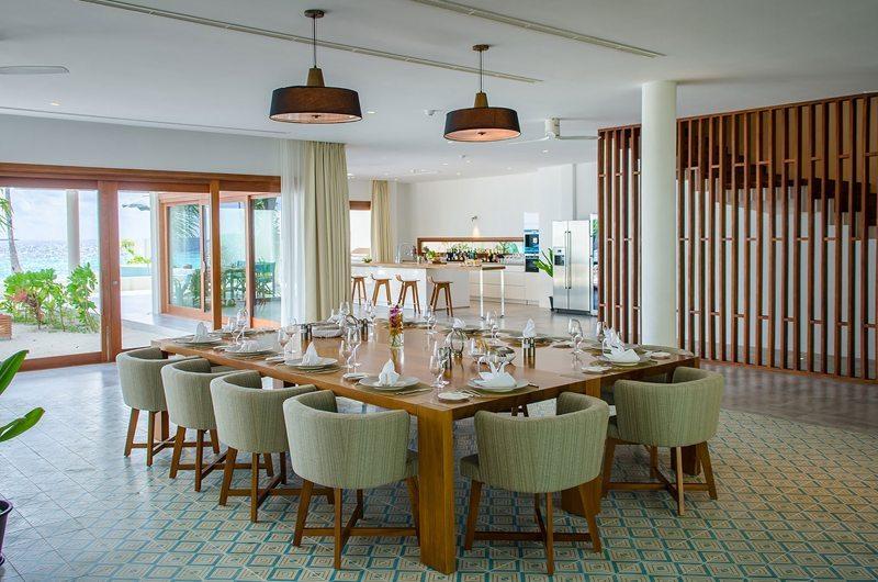 The Amilla Villa Estate Dining Area | Baa Atoll | Maldives