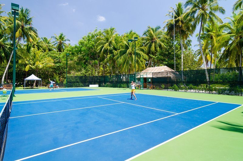The Amilla Villa Estate Tennis Court | Baa Atoll | Maldives