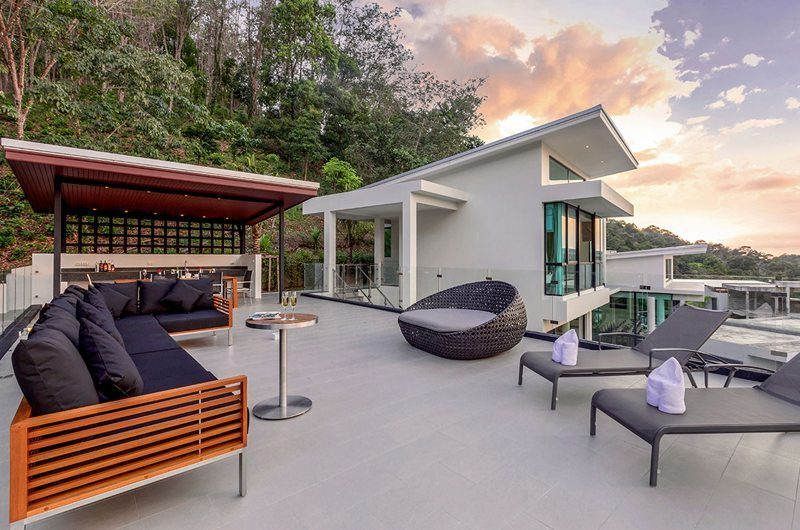 Villa Phukhao Outdoor Lounge | Phuket, Thailand