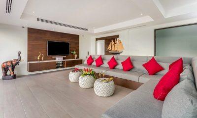 Villa Phukhao Living Area | Phuket, Thailand