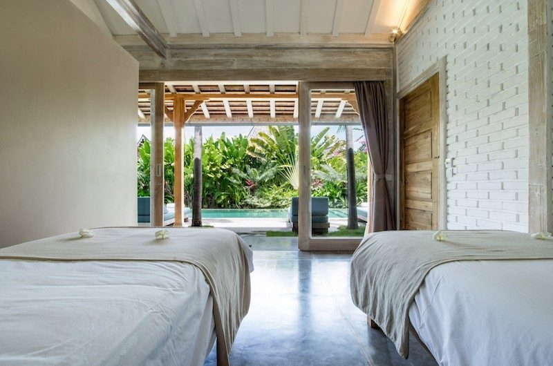 Villa Little Mannao Twin Bedroom | Kerobokan, Bali