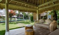 Villa Mannao Outdoor Seating | Kerobokan, Bali