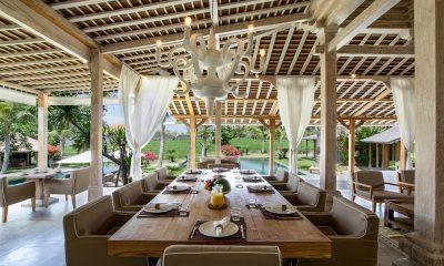 Villa Mannao Open Plan Dining Area | Kerobokan, Bali