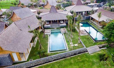 Villa Mannao Estate Bird's Eye View | Kerobokan, Bali