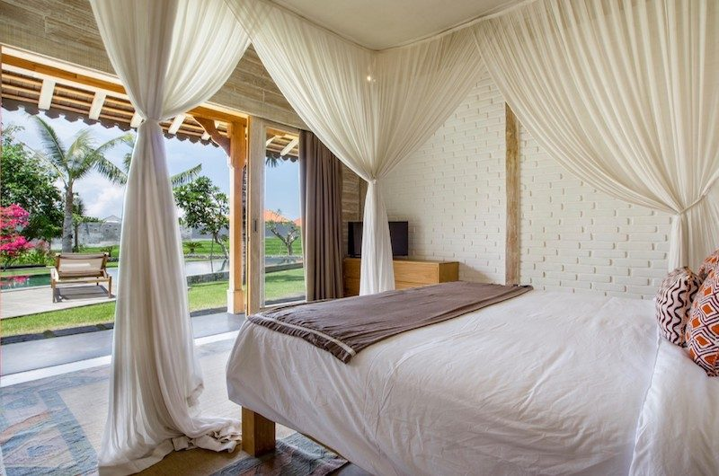 Villa Mannao Estate Bedroom Side with TV | Kerobokan, Bali