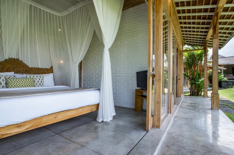 Villa Mannao Estate Bedroom with TV | Kerobokan, Bali
