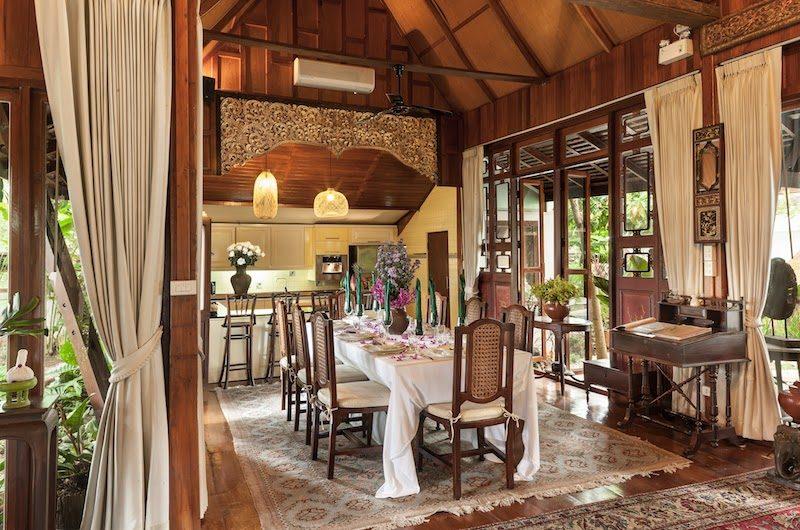 Chiang Mai Luxury Villa Spa Villa Dining Table | Chang Wat, Chiang Mai