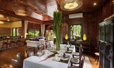 Chiang Mai Luxury Villa Ta Chang Villa Open Plan Dining Area | Chang Wat, Chiang Mai