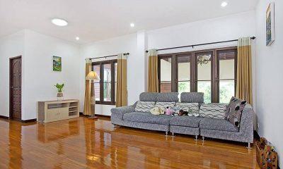 Lanna Karuehaad Villa Living Area | Chiang Mai, Thailand