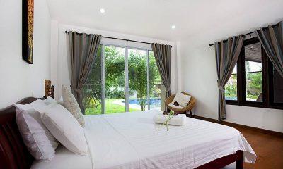 Lanna Karuehaad Villa Guest Bedroom Side View | Chiang Mai, Thailand