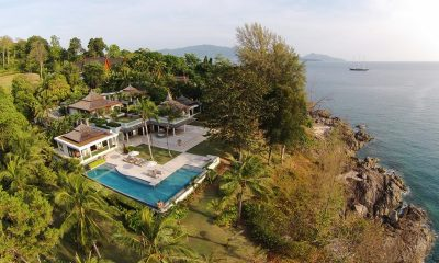 5 Bedroom Ocean Front Residence Bird's Eye View | Layan, Phuket | Thailand